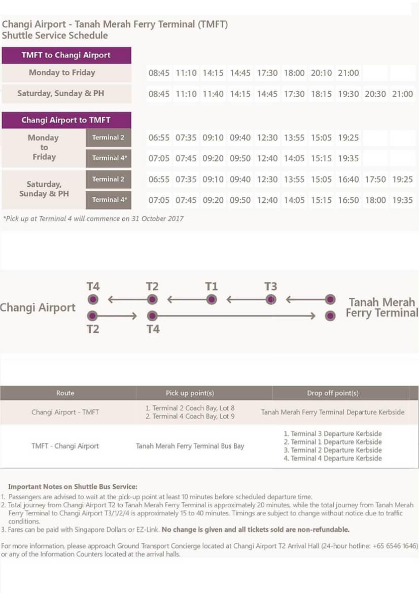 Changi Airport - TMFT shuttle