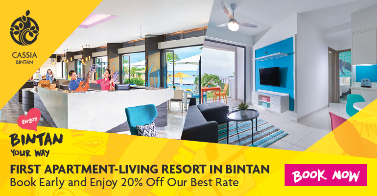 CASSIA-FIRST APARTMENT-LIVING RESORT IN BINTAN