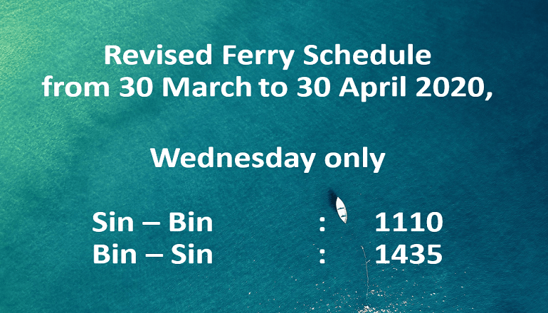 Ferry Schedule – EN
