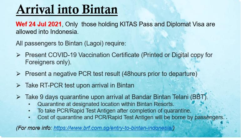 20210724 Arrival Bintan